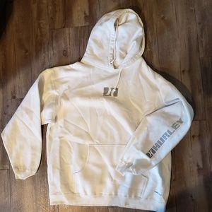 White Hurley Hooded Sweatshirt